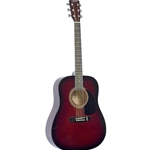 Johnson JG610 Dreadnaught Acoustic Guitar